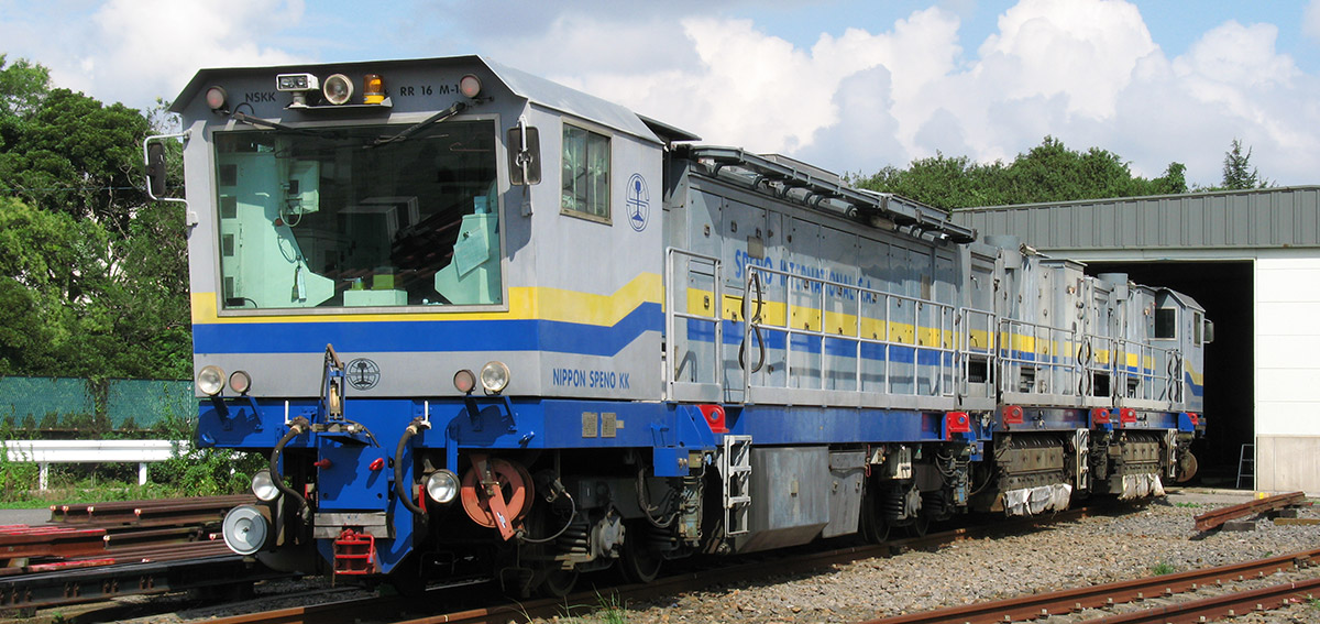 NIPPON SPENO KK is a member of the SPENO INTERNATIONAL Group of companies specialising in rail maintenance, technology, diagnostics and rectification.